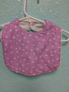 A personal favorite from my Etsy shop https://www.etsy.com/listing/268926801/baby-girl-bib-0-9-month-size-bib-in-the