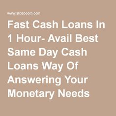 Cash loans no documents required picture 2