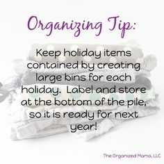 Wish all the best organizing tips were in one place on the Internet? Well now you have it!! Click the link to read them all!!