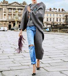 Parole Di Moda: E' IL #BOYFRIEND #JEANS L'ULTIMA #TENDENZA  #boyfriendjeans #trend #trendy #fashion #style #blog #blogger #paroledimoda #inspiration