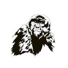 Conscious Gorilla. Listen without ears. See without eyes. Letter G. #gorilla #consciousness #awesome #awareness #awakening #wakeup #art #animals #art🎨 #wildlife #wildlifeart #endangered #peaceful #listen #sammyjackles