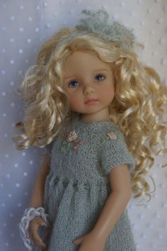 """Effner 13"""" Little Darling Once Upon A Winter Ens by Ladybugs Doll Designs 