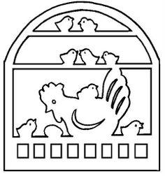 silhouette. decorations on windows.  Вырезанки. украшения на окна.