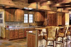 Fantastic rustic kitchen design. From 1 of 28 projects by Renovation Design Group. #interiors #interiordesign #decor