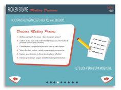 e-Learning Design: Problem Solving & Decision Making on Behance