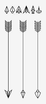tattoo arrows - cool designs! :: i would have no reason to get an arrow tattoo, but they just look so cool!