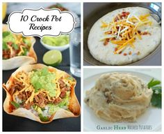 10 Delicious Crockpot Recipes