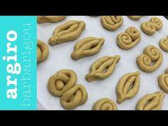 Εύκολα πασχαλινά κουλουράκια με πορτοκάλι, χωρίς αμμωνία από την Αργυρώ Μπαρμπαρίγου | Η συνταγή και όλα τα μυστικά για να γίνουν τραγανά και αφράτα! Biscotti Recipe, Biscuits, Cookies, Baking, Desserts, Recipes, Easter Ideas, Food, Youtube