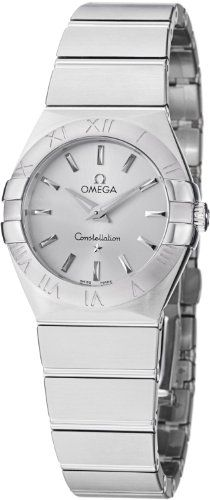 Omega Women's 123.10.27.60.02.001 Constellation Silver Dial Watch #Omega