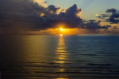 Sunrise in South Padre Island, Texas