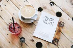 lavender lemonade | cappuccino | cafe | SKØG Urban Hub | Brno