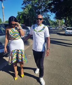 Couples African Outfits, African Wear Dresses, Couple Outfits, African Attire, South African Traditional Dresses, African Shirts, Corporate Attire, African Print Fashion, Weddings