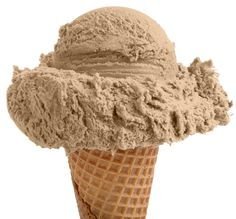 Simple and yet to the point.  Coffee Ice-Cream on a cone - Classic.  Learn more about the classics at www.darrylsicecreamsolutions.com.