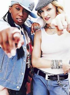Madonna and Missy Elliott for Gap.