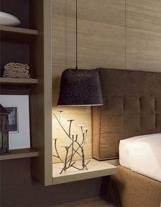 CONTEMPORARY STYLE SPRUCE BEDROOM SET NUOVO MONDO N09 | SCANDOLA MOBILI