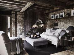 Neptune Delilah Cushion, Emma Dove & Holkham Sand | Textiles