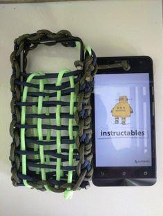 Paracord Phone Pocket