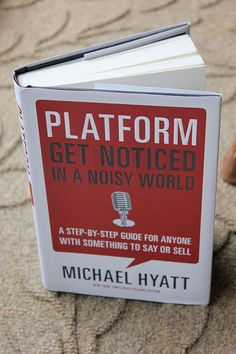 Want to start a blog, launch a product, or write a book? You might want to read Platform by Michael Hyatt...  Haven't read it myself yet but it's been advised several times...