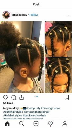 No front things 17 Trendy Kids Hairstyles You Have to Try-Out on Your Kids - Natural Hair Styles Lil Girl Hairstyles, Black Kids Hairstyles, Natural Hairstyles For Kids, Kids Braided Hairstyles, My Hairstyle, Trendy Hairstyles, African Hairstyles, Natural Hair Styles Kids, Teenage Hairstyles