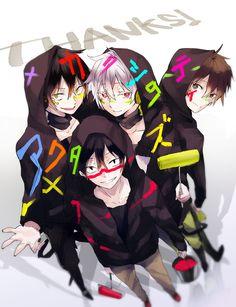 Kagerou Project   Konoha, Kuroha, Shintaro & Seto