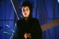 "Winona Ryder as Lydia Deetz in ""Beetle Juice"" (1988)"