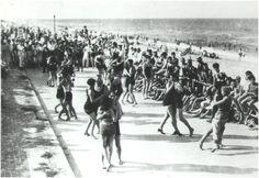 Unknown photographer: Dancing on the Boardwalk, Virginia Beach, Virginia (1920)