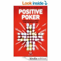 My newest poker book dealing with the psychology of poker, with Dr. Patricia Cardner.