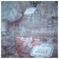 The Sweet Treat Co Candy Bar at Luttrellstown Castle, Ireland. Vintage Candy Buffet, Confectionery, Wedding Events, Sweet Treats, Ireland, Castle, Bar, Sweets, Irish