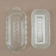 Wexford Clean Glass Butter Dish