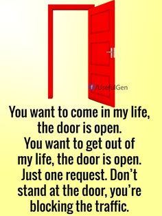 You want to come in my life -LOVE QUOTES