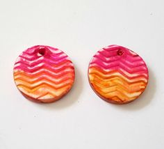Check out this item in my Etsy shop https://www.etsy.com/listing/262797617/desert-sunset-handmade-polymer-clay-bead