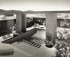 Case Study House No. 28 91 Inverness Road Thousand Oaks, CA. 1966. Buff, Hensman and Associates architects