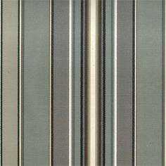 Fabric Roman Shades - Classic Roman Shade -  Harrison Stripe Graphite