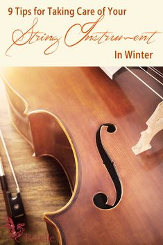 9 Tips To Care For Your String Instrument In The Winter Violin Instrument, Violin Music, Guitar Chords, Cello, Violin Lessons, Music Lessons, Violin Online, Teaching Music, Music Education