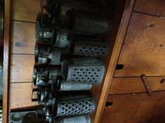 wonderful collection of round graters