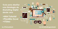 Cómo diseñar tu Estrategia de Marketing Online paso a paso