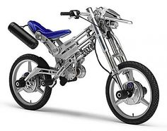 Yamaha's radical adjustable electric motorcycle