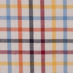 Red/Yellow/Blue/Orange Plaid Cotton Shirting Fabric by the Yard Blue Orange, Yellow, Shirting Fabric, Mood Fabrics, Buy Fabric, Black Plaid, Fashion Fabric, Fabric Online, How Are You Feeling