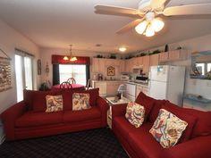 Sunset Cottages Vacation Rental - VRBO 6233 - 2 BR Okaloosa Island Condo in FL, 'Sunset Cottages Unit 5c' or 'Sunset Dreamer', Professional Na