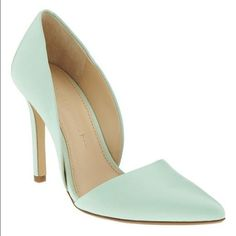 NWOT Adelia D'Orsay Pumps Super comfy, mint green shoe. *Size runs large! (I'm normally a size 10 but even a 10.5 would be comfortable in this) Make an offer!Does NOT come in original box.  trades Banana Republic Shoes Heels