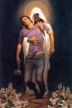 Thomas Blackshear - Forgiven  I don't know why but something in this painting always calls out to me