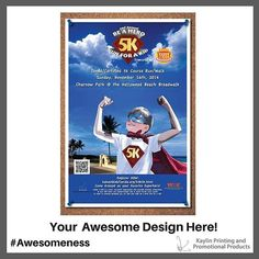 Communicate Your Brand Awesomeness™ with Custom Posters.