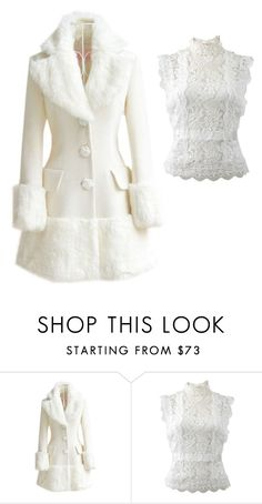 """""""Untitled #415"""" by the-joker-reject on Polyvore featuring WithChic and Oscar de la Renta"""