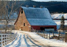 scenic old barn photos   Old Barn At Onward Ranch   Flickr - Photo Sharing!