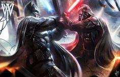 Batman vs. Darth Vader DC Comics vs. Star Wars 11 x by Wizyakuza