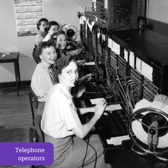 remembering the telephone operator of 1950s