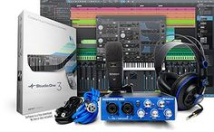 Presonus AudioBox Studio with Headphones, Microphone, Mic Cable, USB Cable, and StudioOne Artist Software (Download) PreSonus http://smile.amazon.com/dp/B004LLV04E/ref=cm_sw_r_pi_dp_RCSCwb1CBPA12