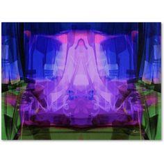 Trademark Fine Art Midnight Canvas Art by Andrea, Size: 8 x 24, Multicolor