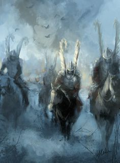 just speed paint for myself, after read an article about 150 polish riders fighting against russians. for polish readers: historia. Medieval Fantasy, Dark Fantasy, Fantasy Art, Character Concept, Concept Art, My Fantasy World, Landsknecht, Speed Paint, Fantasy Warrior