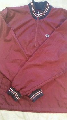 Champion Men's Vintage pullover  windbreaker  size large  Free shipping! !! #Champion #Windbreaker